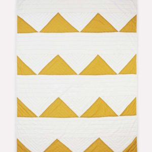 Triangle Organic Cotton Throw